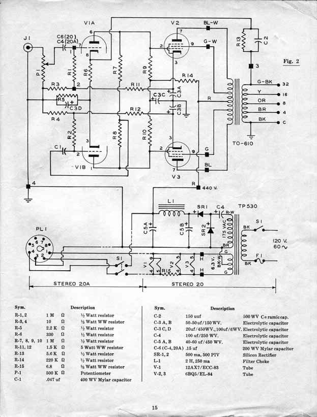 Tolle Stereo Schaltplan Für Den Pionierwagen Zeitgenössisch ...