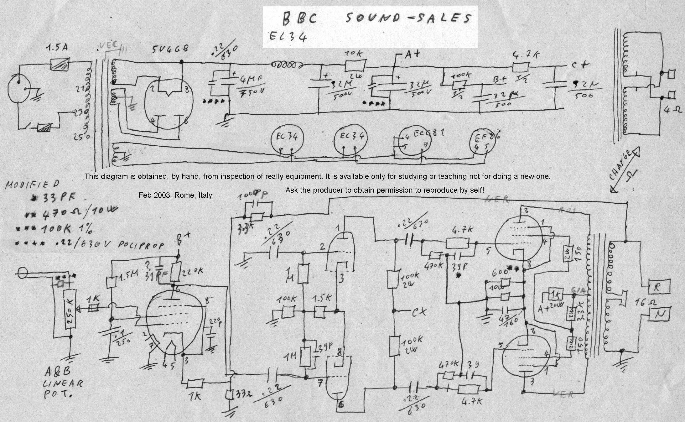 Schemi Elettrici Hi Fi : Dr. g. visco; official home page; hifi tubes rebuild bbc sound sales