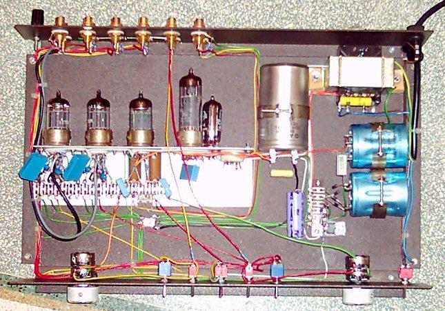 Schemi Elettrici Hi Fi : Dr g visco official home page hifi tubes rebuild croft supermicro